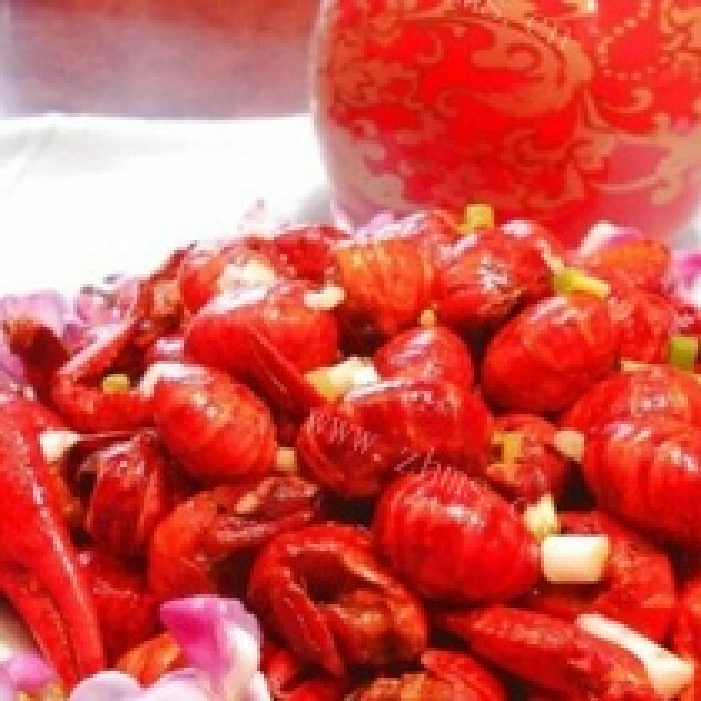 红烧小龙虾球