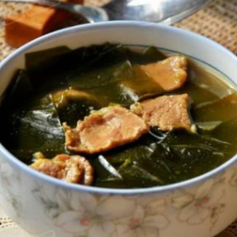生日海带牛肉汤