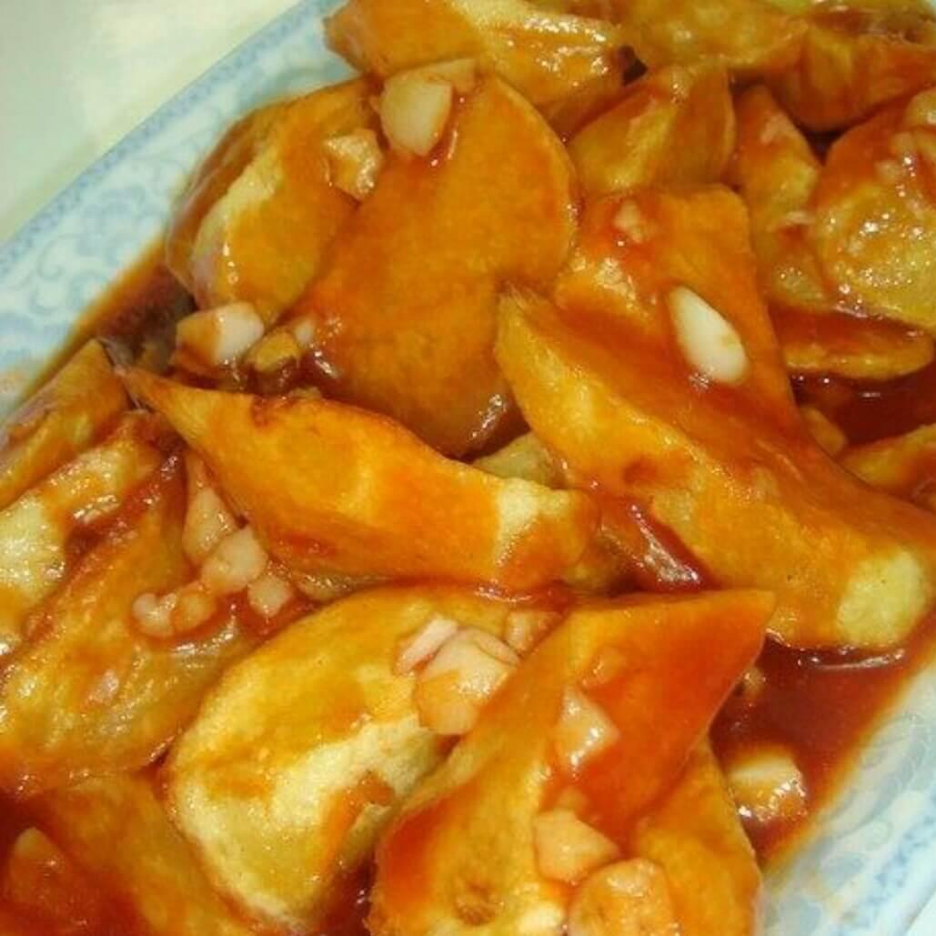沙司蒜蓉土豆酥角