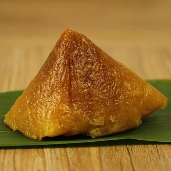 豆沙枧水粽