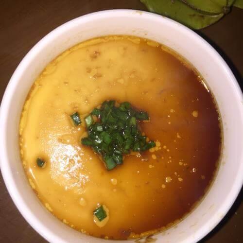三彩豆腐蛋羹