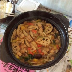 茶树菇煲土鸡