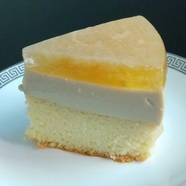 焦糖果冻布丁蛋糕