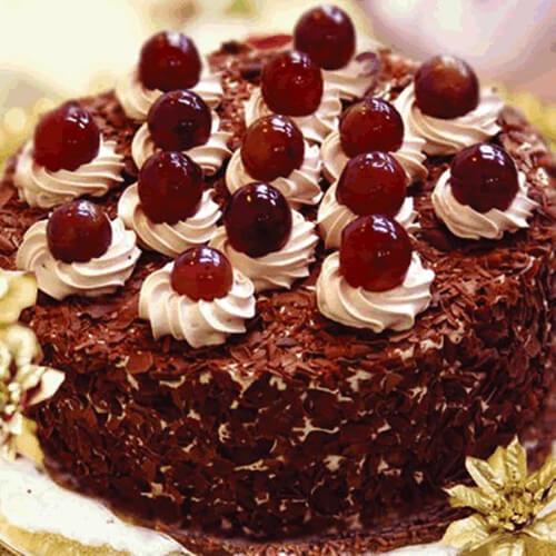 自制黑森林蛋糕