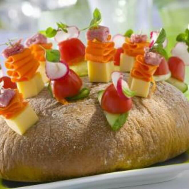 芝士蔬菜面包