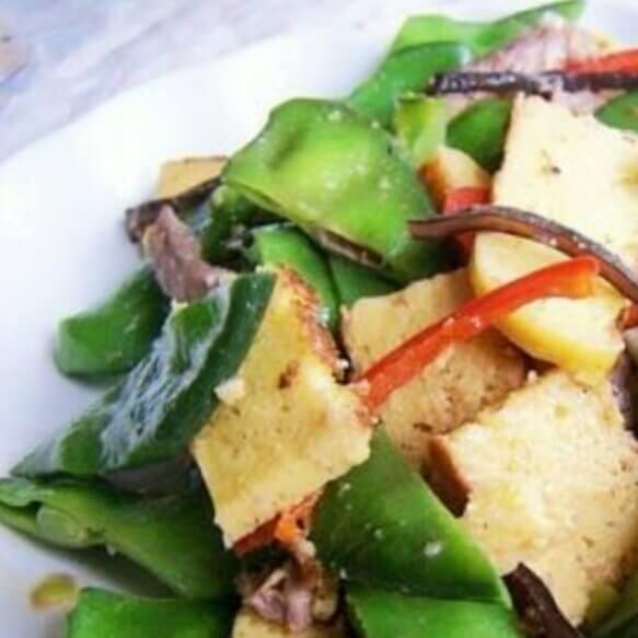 香炒玉米饼