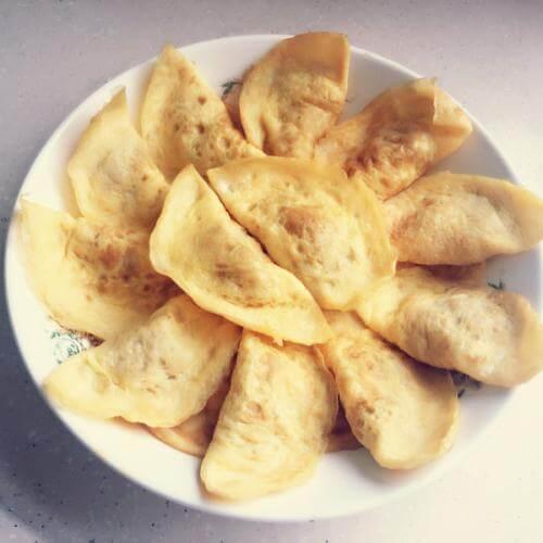 烘蛋饺的做法