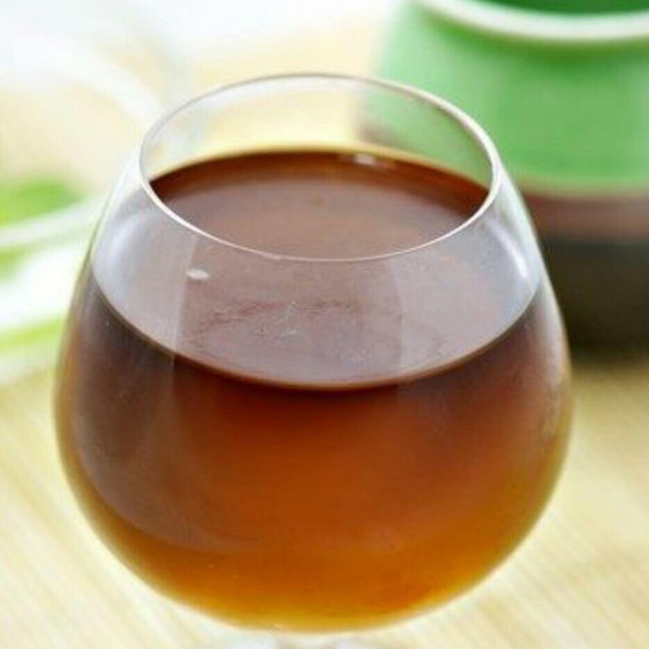 玫瑰红茶冻