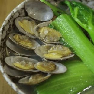 潮味沙白芥菜汤