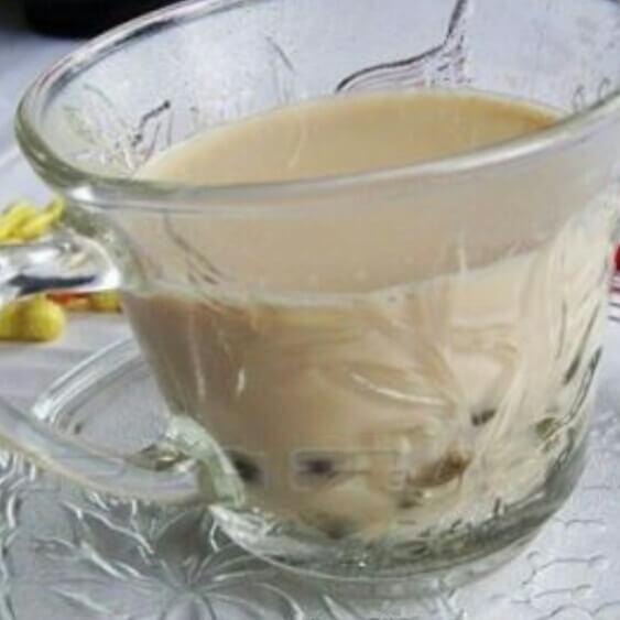 蜜豆清凉奶茶