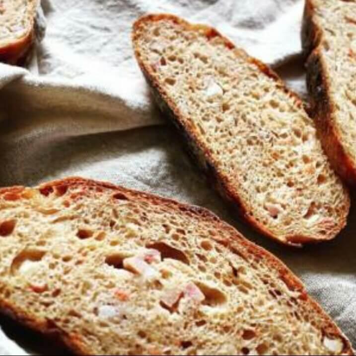 天然番茄酵母面包
