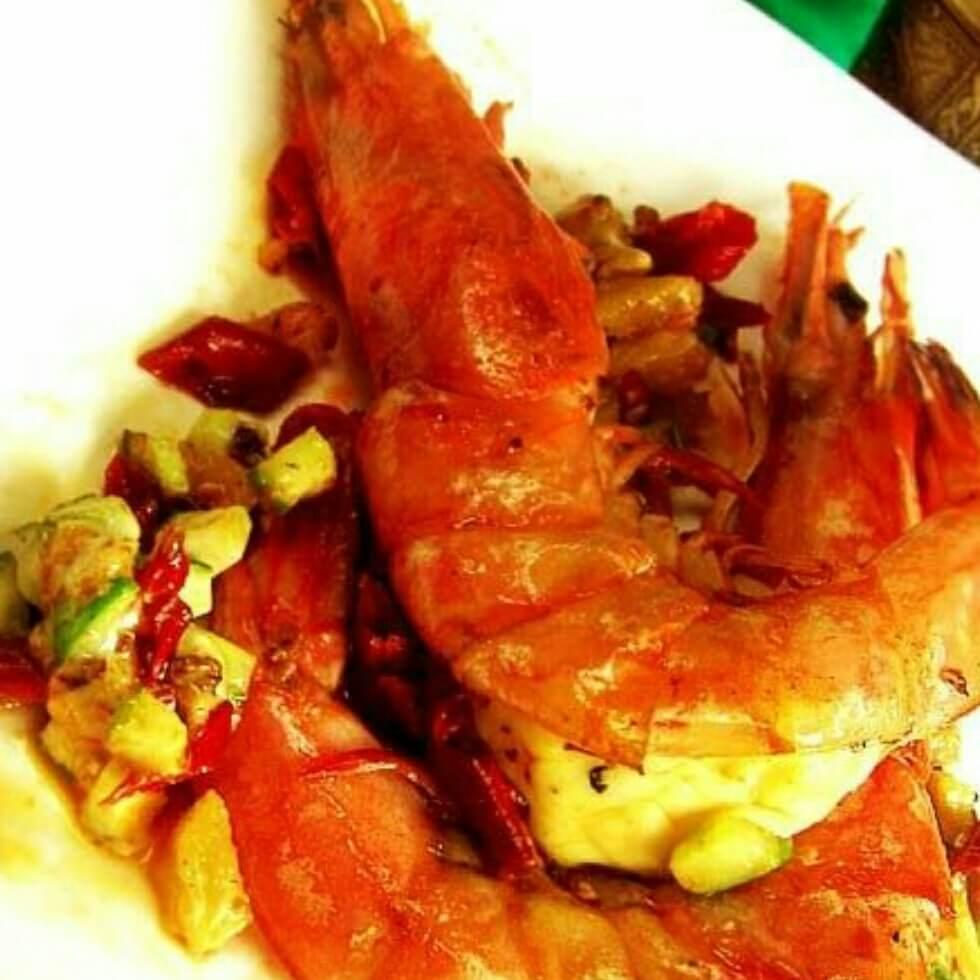 芝士锔大虾