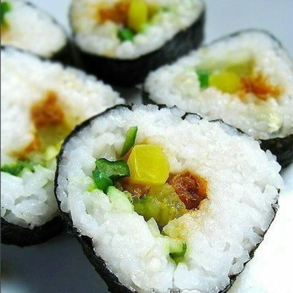 简单的3角型寿司