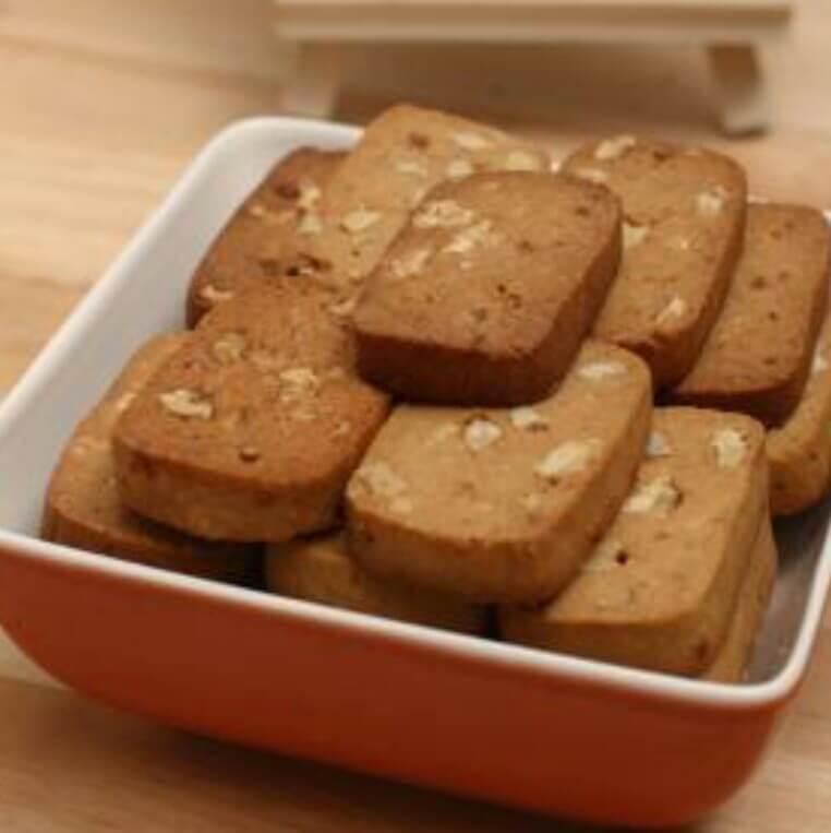 黑糖核桃饼干