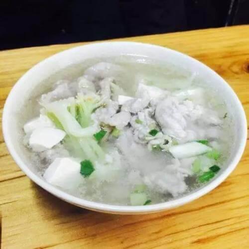 花蛤鱼丸汤