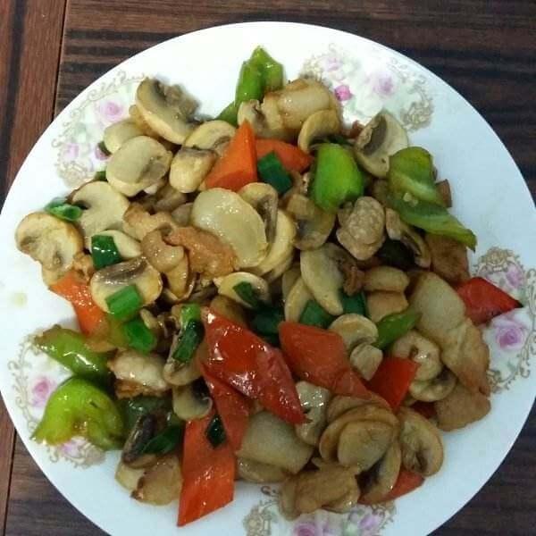 泡椒炒口蘑