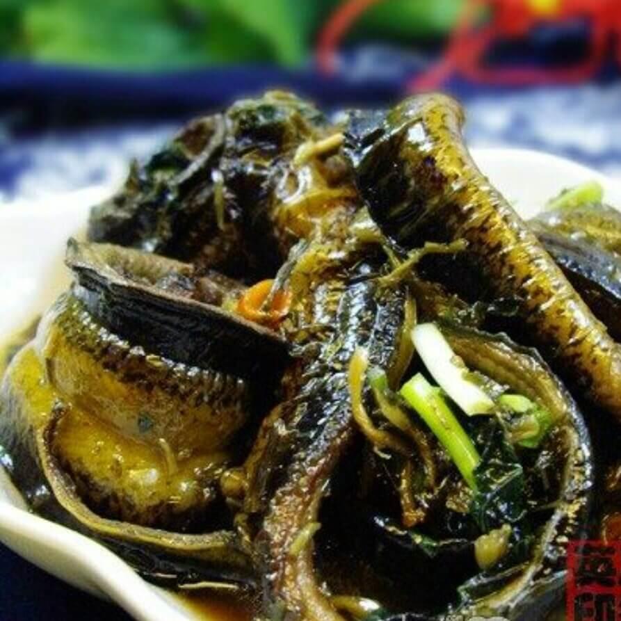 健康美食酸菜煮鳝鱼