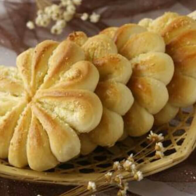 汤种辫花面包