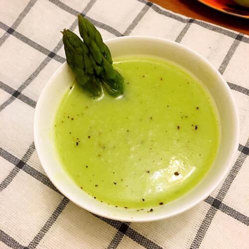 芦笋玉米浓汤
