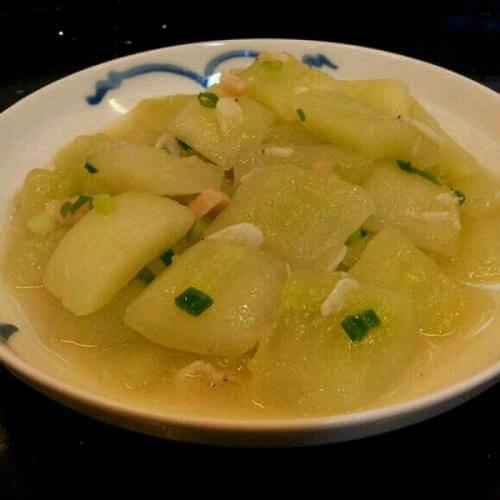 瑶柱虾米焖冬瓜