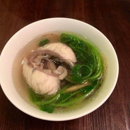 芫荽豆腐汤