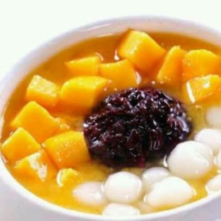 水果南瓜小汤圆