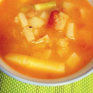土豆玉米西红柿浓汤