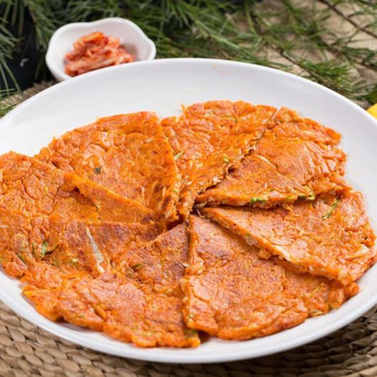 特色美味 韩国泡菜饼