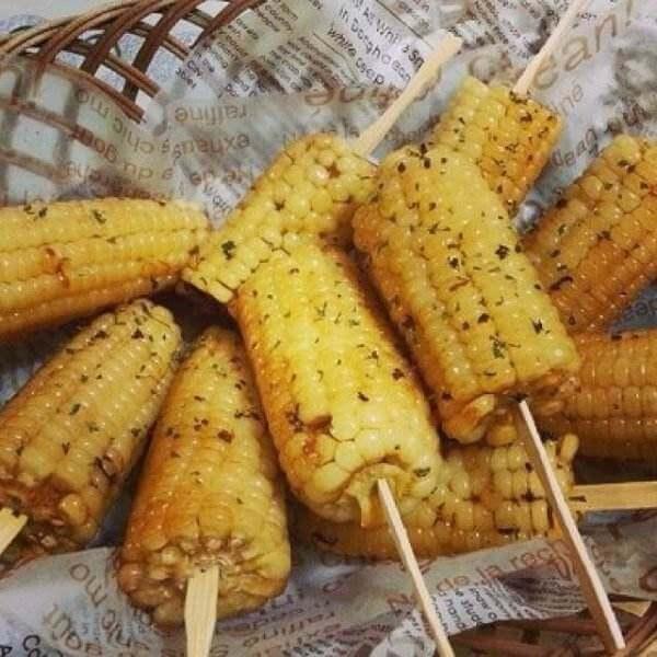 蜂蜜烤玉米