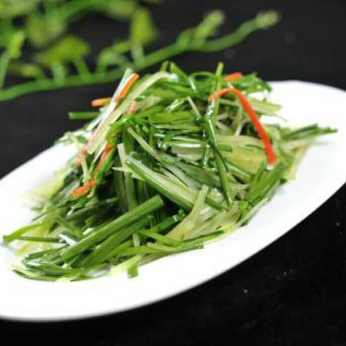 日式凉拌韭菜