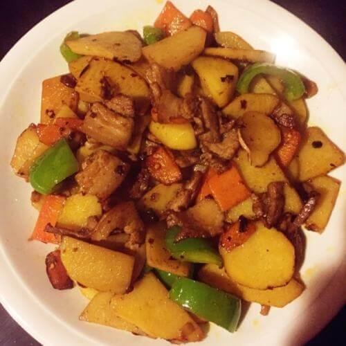 豆豉酱烧土豆
