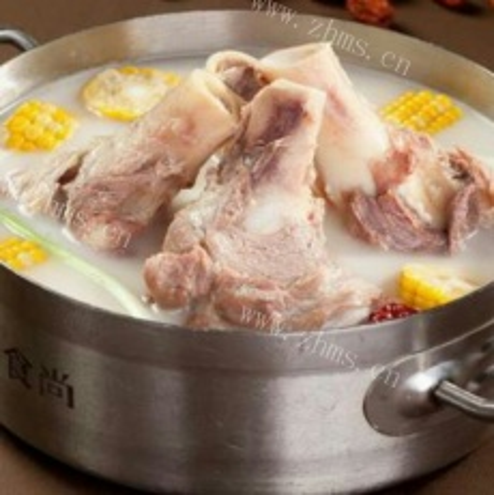 新锅熬骨汤