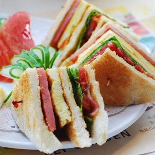 如此诱人的三明治