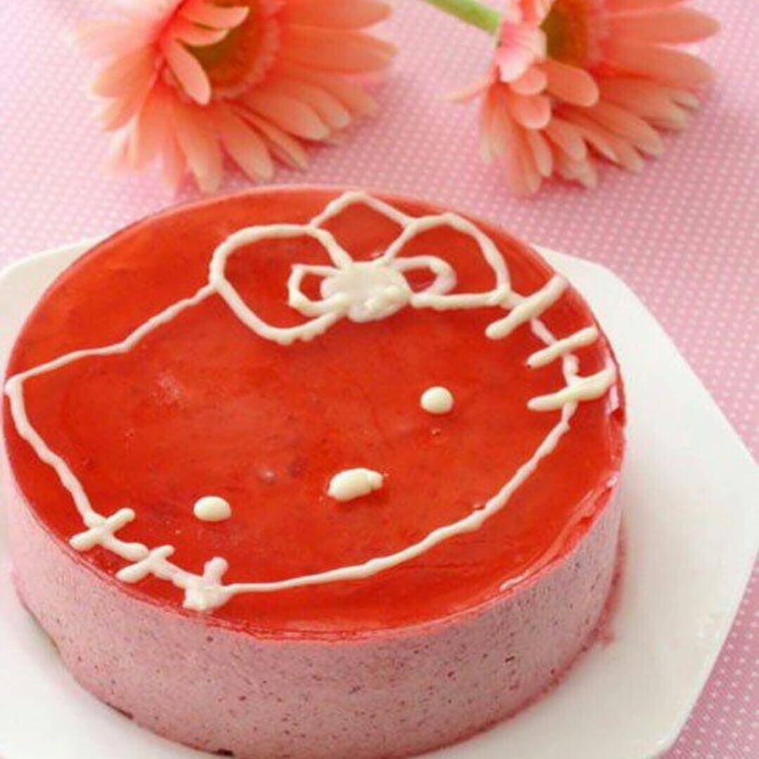 hello-kitty蛋糕