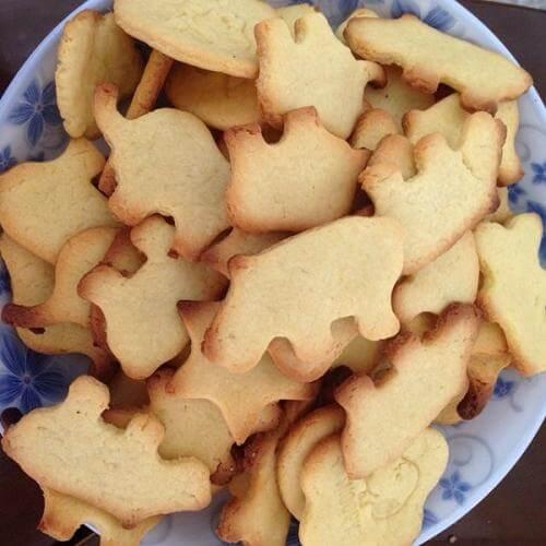 奶香蛋白饼干