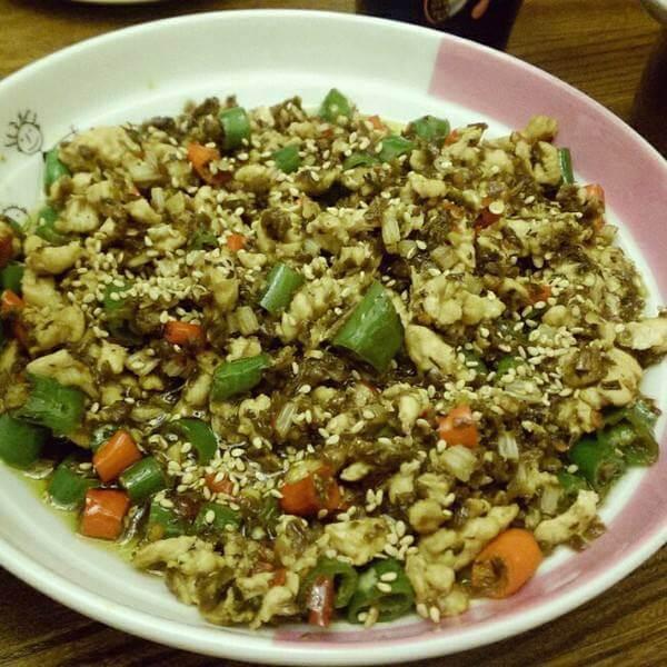 经典鸡米芽菜