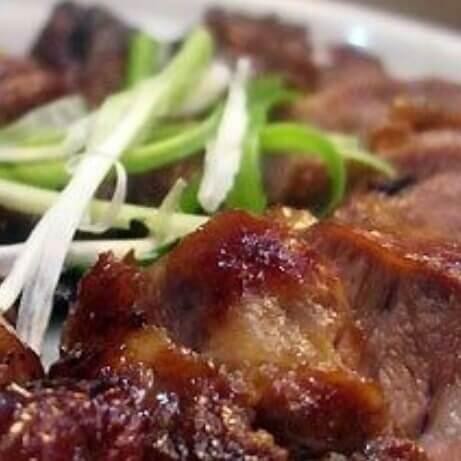 蒜香烤猪面肉