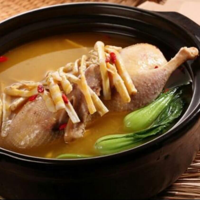 自己做的杭州老鸭汤