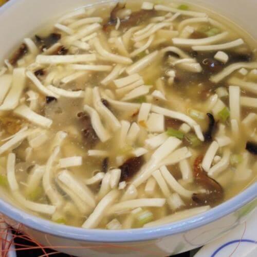 美味西湖香菇豆腐羹