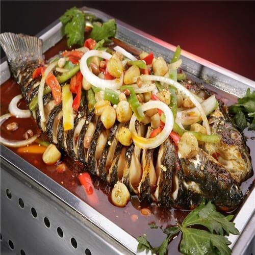 自制五香烤鱼