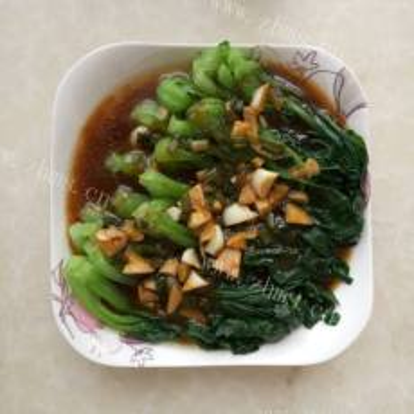 蚝油豉汁油菜