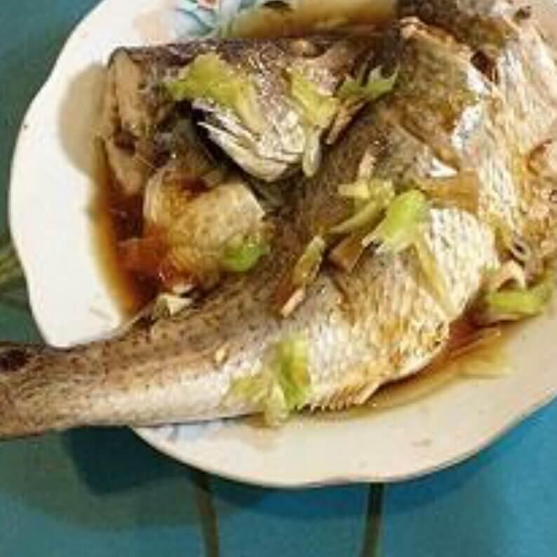 清蒸大红鱼