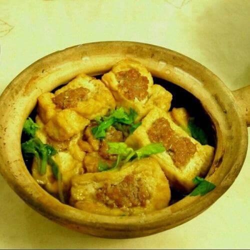 煎酿豆腐煲