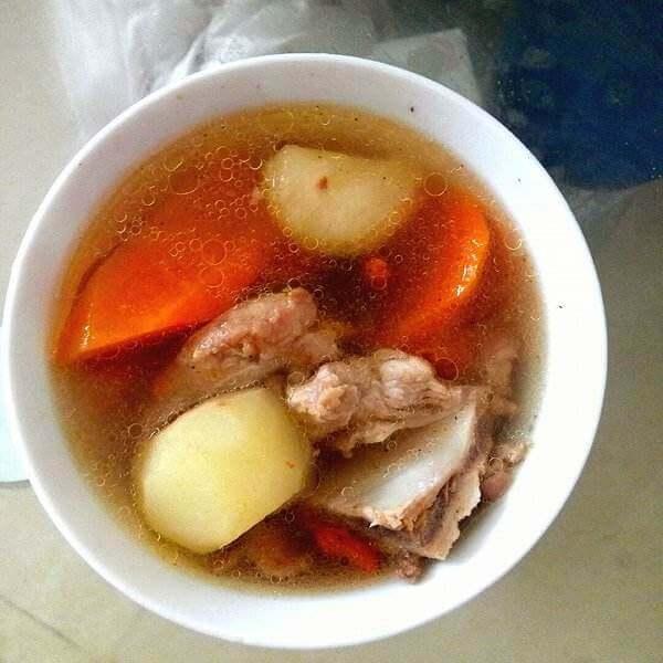 竹蔗红萝卜马蹄水