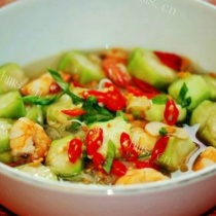 虾葫芦瓜宽粉煲
