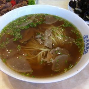 芦笋牛肉清汤