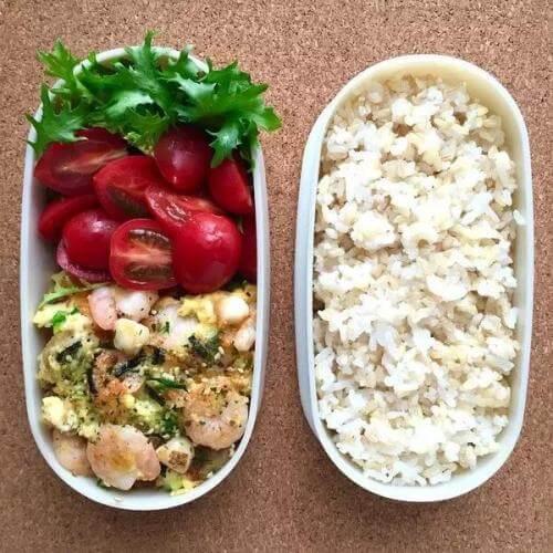 蔬菜海鲜沙拉