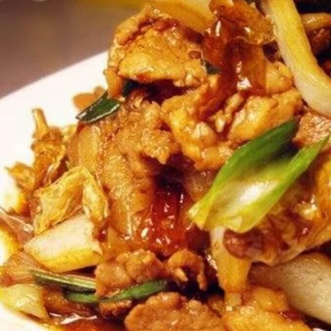 干白辣椒炒肉