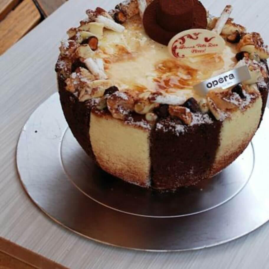 提拉米苏冰淇淋蛋糕