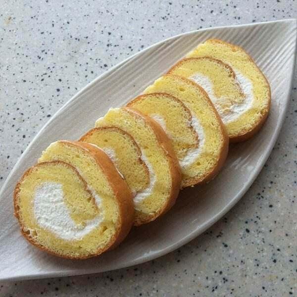 海绵蛋糕卷